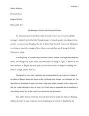rocket boys essay