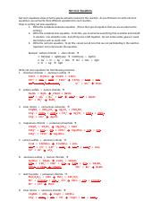 13a Net Ionic Equations Key
