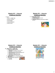 Module-14-Lifecycle-Childhood-Nutrition-four-slides-per-page