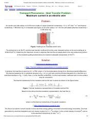 Transport phenomena heat transfer problem solution BSL _ Maximum current in an electric wire.pdf
