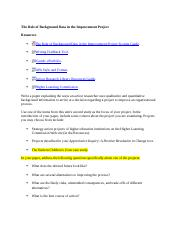 The_Role_of_Background_Data_in_the_Improvement_Project_(outline).docx