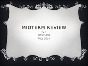 Midterm review ppt