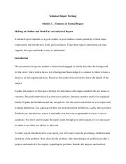 Module 5 - Elements of a Formal Report.docx