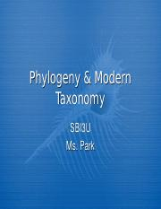 Park+Phylogeny+Student+Version+.ppt