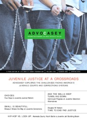 Juvenile Justice at Crossroads Advocasey