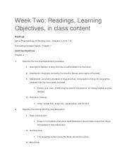 Week Two objectives.docx