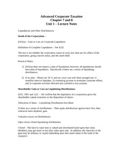 Unit 1 and 2 Lecture Notes