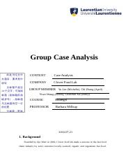 group case