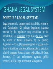 GHANA LEGAL SYSTEM  (CONSTITUTION).ppt