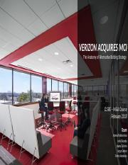 Verizon Acquires MCI—The Anatomy of Alternative Bidding Strategies .pptx