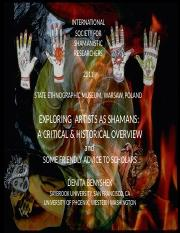 Artists_as_Shamans_A_Critical_and_Histor.ppt