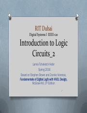 EEEE-120_Lecture 3_logic Circuits_2