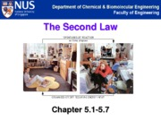 4.Second Law_Chap 5