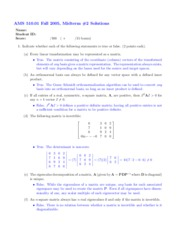 Midterm 2-Fall 2005-Solutions