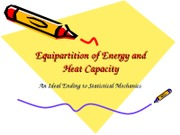 Lecture_28_Equipartition of NRG and Heat Capacity