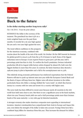 Currencies_ Buck to the future _ The Economist