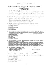 BIO311c_Sample_Exam1_KSathasivan