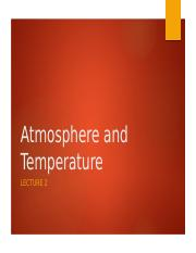 Atmosphere and Temperature - L2.pptx