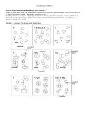 Classification Of Matter Worksheet Answer Key Pogil - best ...