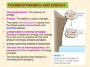 Chapter 1_Thermodynamics and energy