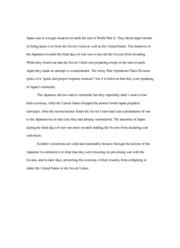 soviet union biological substance preparation essay