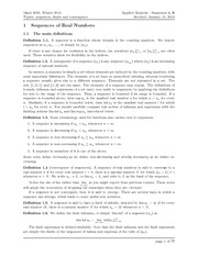 math3003~sequence of real numbers