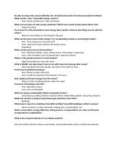 Science 1101 - Exam 4 Study Guide.docx