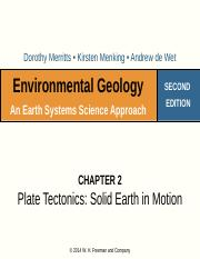 Week 3 Lecture Plate Tectonics Revised(1)