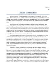 Driver Distraction.docx