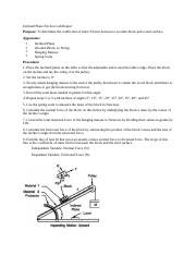 Inclined Plane Friction Lab Report.docx