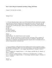 Bates examination pdf physical barbara
