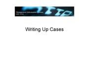 writeup cases