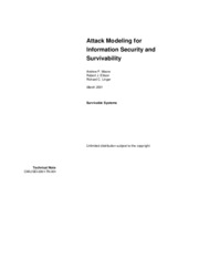 Attack Modeling for Information Security Survivability