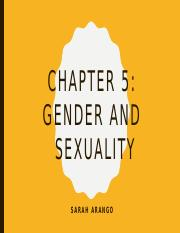Pysch 301-Gender and Sexuality