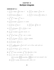 Calculus Early Transcendentals Solutions Manual Chapter 15