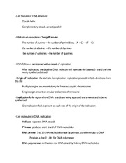 Quiz Worksheet Dna Replication Facts For Kids Study Com Lesson Plans High S