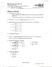 Midterm 1 Review pg 1