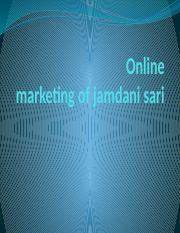 Online Marketing Of jamdani Sari (1).pptx