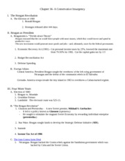 Chapter 36- Outline Germanna 2008