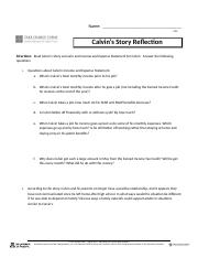 Calvins Story Reflection 4.02.docx