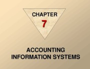 Accounting Info System In Dept