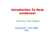 Microsoft PowerPoint - Introduction To Heat condenser