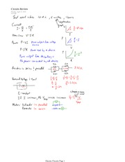 PHYS 12 Circuits Review Notes