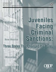 Juveniles and Criminal Sanctions