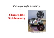 chapter 4b- Stoichiometry