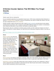 8 Kitchen Counter Options That Will Make You Forget Granite - Yahoo! Homes