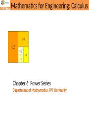 Chapter6_Power Series.ppt