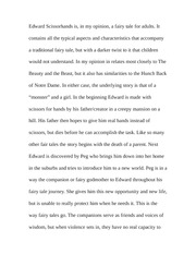Essay on Edward and the Fairytale