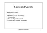 Stack Queue by Thanh Giang