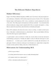 Lecture12EfficientMarkets(1)